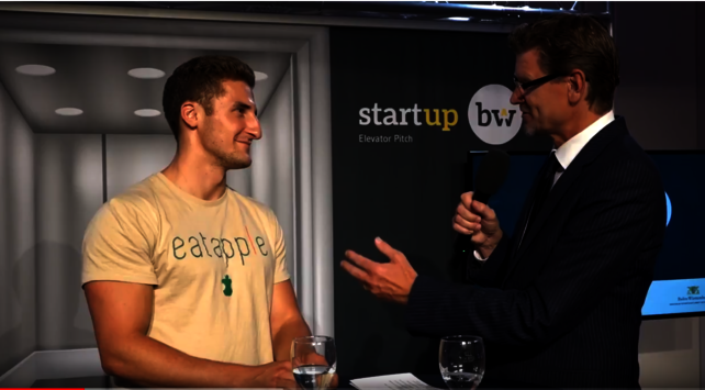 Start-up BW Elevator Pitch Finale 2017/2018 | Interview mit Eatapple - 1. Platz