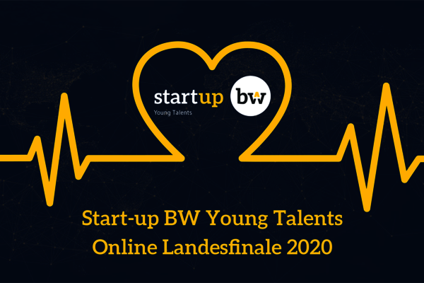 Start-up BW Young Talents Online Landesfinale 2020